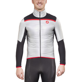 Castelli Cross Prerace Jacket Men silver/black